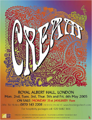 Cream Reunion. May 2005. [click for larger image]
