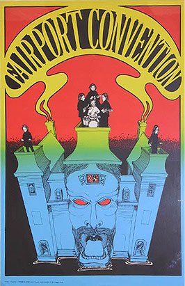 A Fairport Convention poster (year unknown)